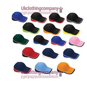 Beechfield-Teamwear-Competition-Cap-Baseball-one-size-sports-hat-unisex