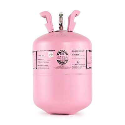 R410a Refrigerant in 25lb Disposable Tank - 40 cylinders - 1 pallet