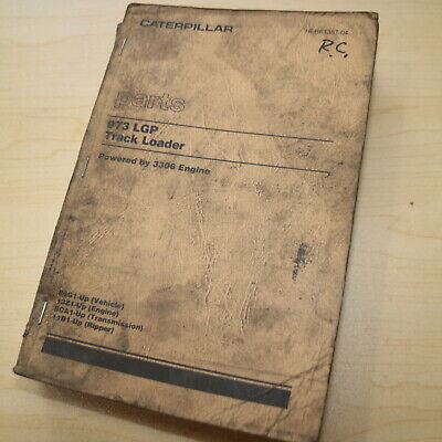 Cat Caterpillar 973 Track Loader Crawler Part Manual Book Lgp 86g Series List