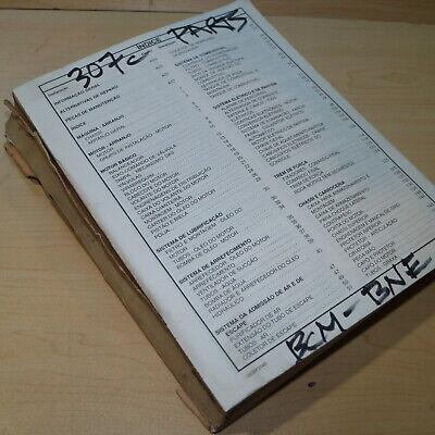Cat Caterpillar 307c Excavator Parts Manual Book Catalog Trackhoe Crawler List