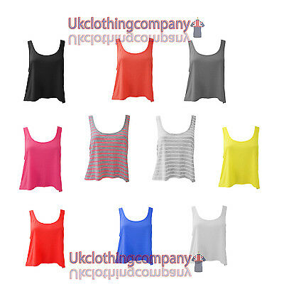 Bella+Canvas - Womens T-Shirt Flowy Boxy Tank top ladies short top - s m l xl  ()