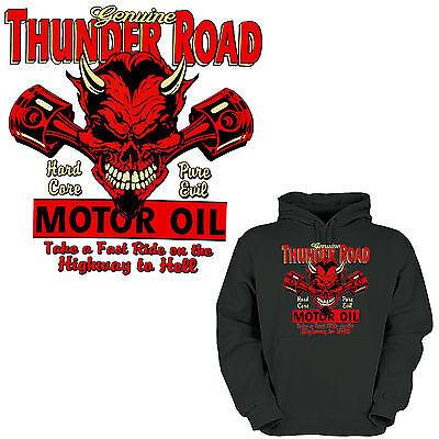 Teufel Hoodie (* Hoodie Hot Rod Tuning  Biker Kustom Pistons Teufel Garage Werkstatt *1238 )