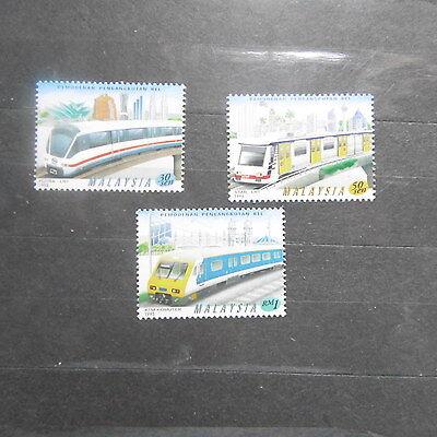 Malaysia 1998 Trains mnh