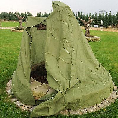 Vlieshaube XXXL 300x150 Winterschutz für Olivenbaum und mediterrane Palmen