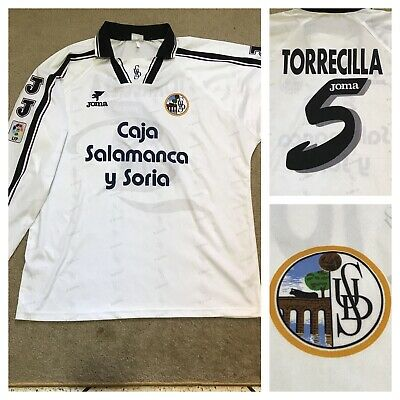 UD SALAMANCA camiseta Football Shirt 1995-1996 match worn Jersey JOMA size XL image