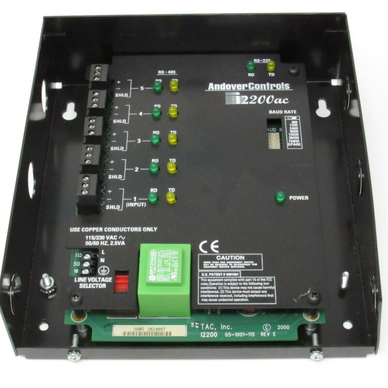 Schneider Electric Andover Controls Infinet II In i2 200 Repeater Hub I2200 ac