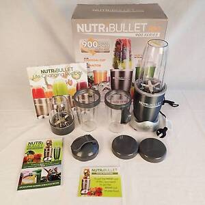 Nutribullet Pro 900W AU Plug 9 Piece (in a perfect condition.) New Farm Brisbane North East Preview