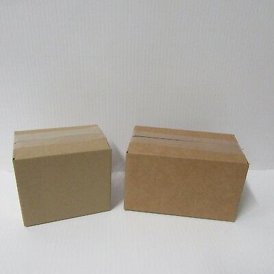 10 ROYAL MAIL  SMALL CARDBOARD POSTAL BOXES MIXED BOXES