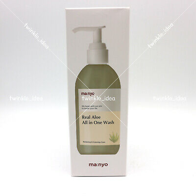 [Manyo Factory] Real Aloe All in One Wash 300ml / 10oz K-beauty From head to toe
