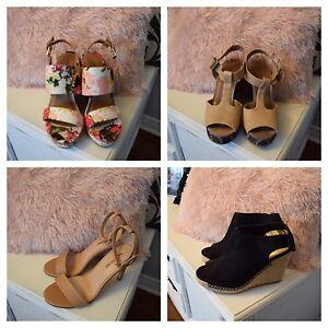 Lot of (4) Women's Heels