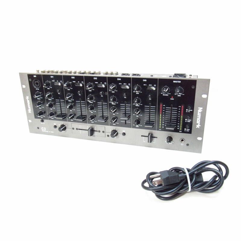 "Numark C3 Professional 19"" Rack-Mountable DJ Mixer"