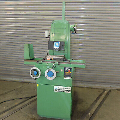 Brown Sharpe 612 Valumaster Precision Roller Way Hand Feed Surface Grinder