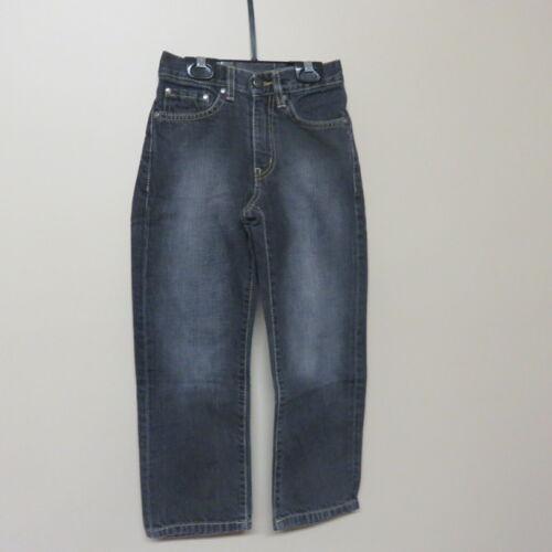 Lacoste Boys Denim Jeans Black EUC Size 6 Years