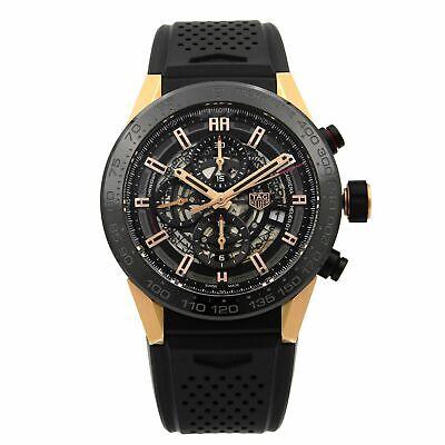 Tag Heuer Carrera Calibre Heuer 01 Gold Titanium Mens Watch CAR2A5A.FT6044