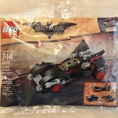 New LEGO Batman Movie 30526 The Mini Ultimate Batmobile (84pcs/ Sealed Polybag)