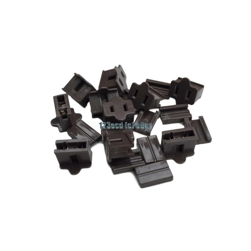 10 pack Brown Female Zip Plug SPT-1