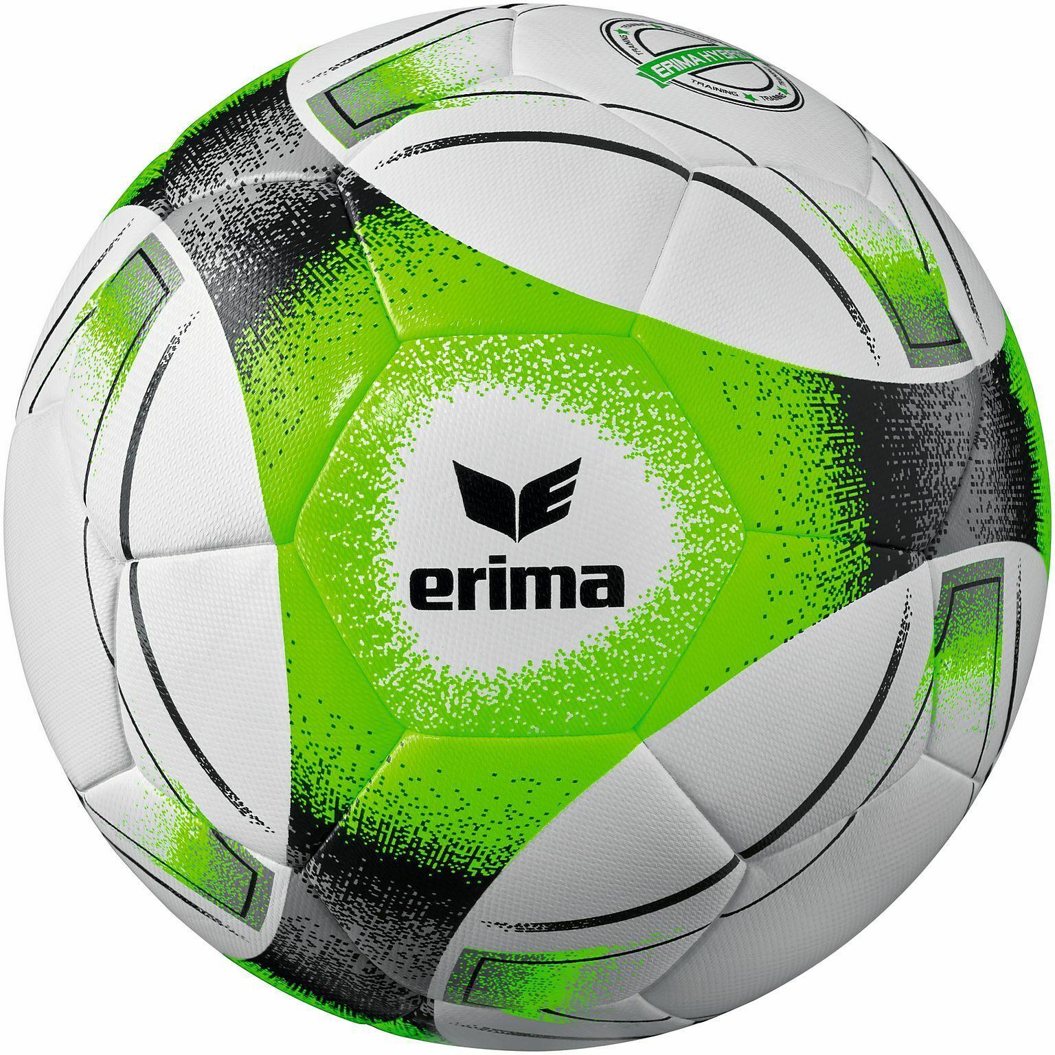 Erima 7191903 Hybrid Training Fußball Gr 5 Schwarz Grau Grün