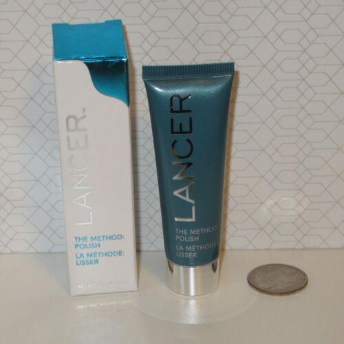 NEW Sealed LANCER The Method Polish Face Cleanser Exfoliate 0.5oz 14g