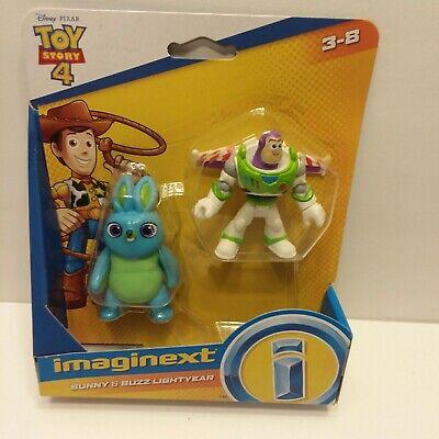 NEW Disney Pixar Toy Story 4 Imaginext Bunny & Buzz Lightyear