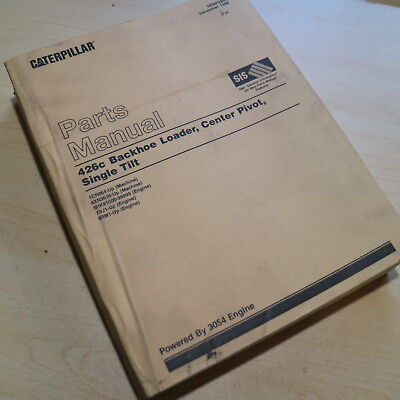 Cat Caterpillar 426c Backhoe Loader Parts Manual Book Catalog
