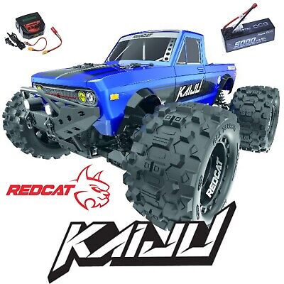 Redcat Racing Kaiju 1/8 Scale Brushless Monster Truck NEW W/Battery And Charger