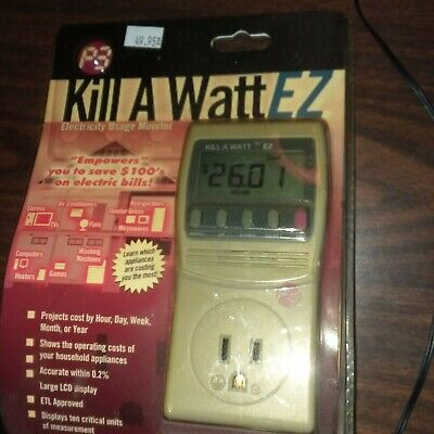 P3 P4460 Kill A Watt EZ Electricity Usage Monitor