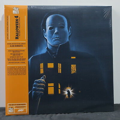 'HALLOWEEN 4: Return Of Michael Myers' Soundtrack Ltd. Edition ORANGE Vinyl LP (Halloween 4 Limited Edition Soundtrack)