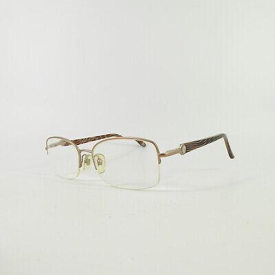 Versace 1193 Semi-Rimless R2937 Used Eyeglasses Frames - Eyewear