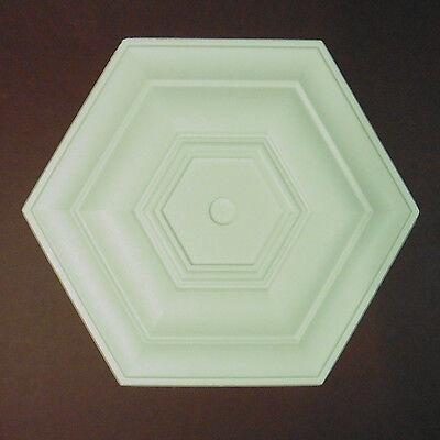Ceiling Rose Size 400mm 'Kensington 2' Lightweight Polystyrene *We Combine P&P*