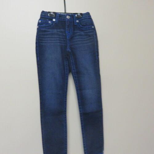 Boys True Religion Denim Jeans Skinny Leg Retail $89.99 Dark Denim NWOT Size 10
