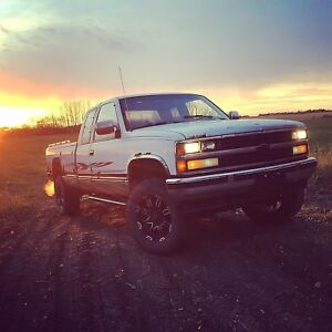 1988 Chevy 4x4 winter truck with rebuild