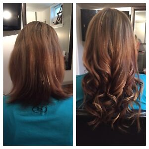 Premium nanolink extensions - dream hair for the holidays