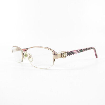 Versace 1177-B Semi-Rimless V8330 Used Eyeglasses Frames - Eyewear