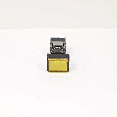 FUJI AH165-TFY11 Yellow Pushbutton Command Switch