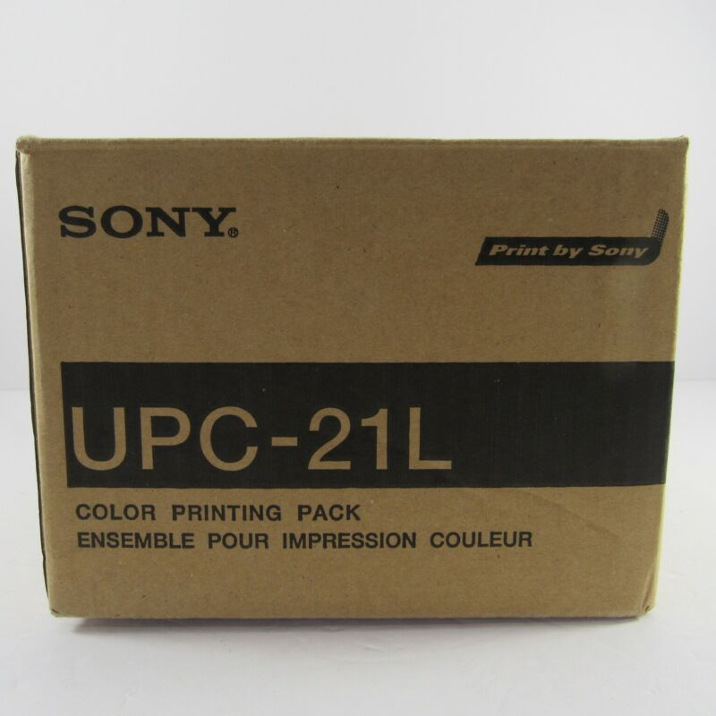 Sony UPC-21L Color Printing Pack 200 Prints Sealed Free Shipping
