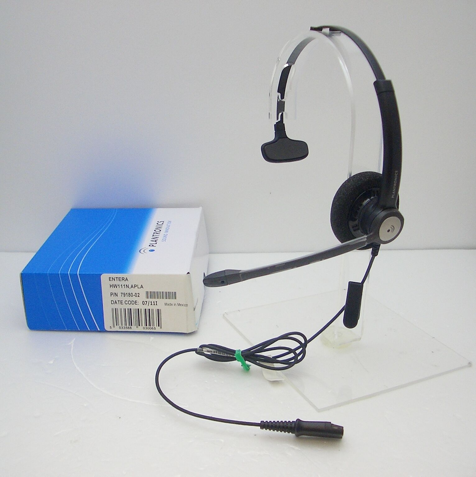 Plantronics Hw111n Mono Noise Canceling Office Phone Qd Headset For M12 M22 Amp 17229132054 Ebay