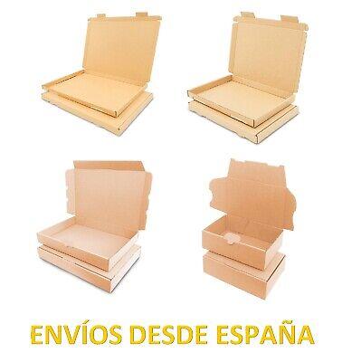 Cajas de Cartón Kraft Marrón Automontables Postales Para Envíos, Varios Modelos