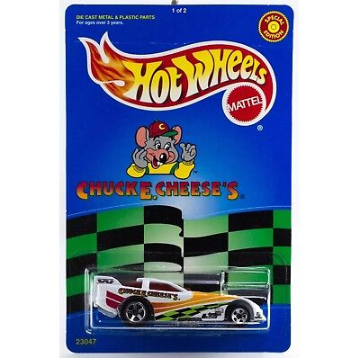 VINTAGE HOT WHEELS PROMO CHUCK E CHEESE'S PROBE FUNNY CAR LIMITED EDITION MIP
