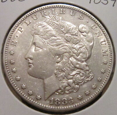 1883-S MORGAN SILVER DOLLAR BETTER DATE US SILVER COIN WITH GREAT DETAILS