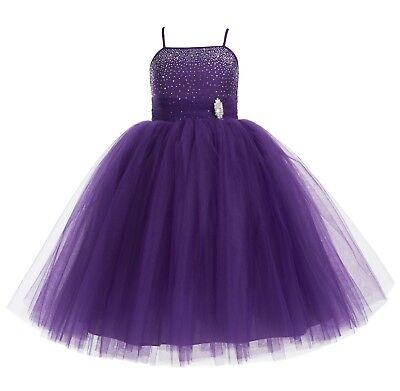 Toddler Ball Gowns (Wedding Tulle tutu Flower Girl Dresses Pageant Dresses Ball Gowns Toddler)