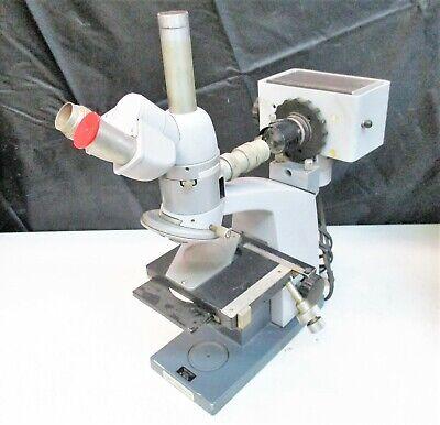 Reichert Trinocular Microscope Flourescence Metavar Mcbain Instruments