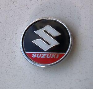 Vintage SUZUKI - British Made - (Bandit/GSXR) Motorcycle Pin Badge