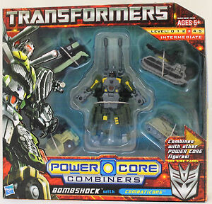 TRANSFORMERS POWER CORE COMBINERS-BOMBSHOCK WITH COMBATICONS-98463