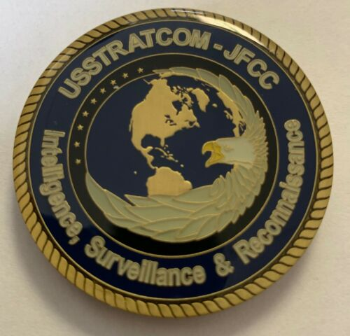STRATCOM ISR US Strategic Command Intelligence Surveillance Reconnaissance Coin