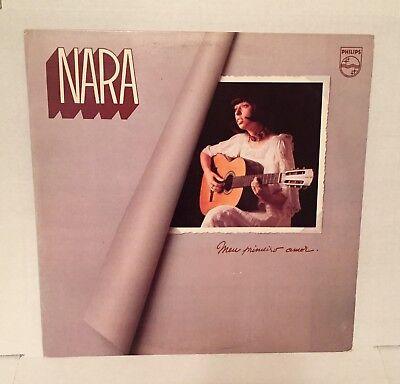 """NARA LEAO bossa nova LP PHILIPS """"Meu Primeiro Amor"""" BRAZIL '75 orig HTF ~ NICE!, usado comprar usado  Enviando para Brazil"""