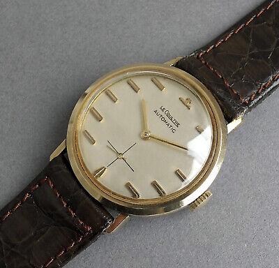 JAEGER LECOULTRE Automatic 10K Gold Vintage Watch 1958