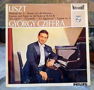 LISZT - György CZIFFRA - Philips 835 191 AY - Stereo LP RARE - Italia - LISZT - György CZIFFRA - Philips 835 191 AY - Stereo LP RARE - Italia