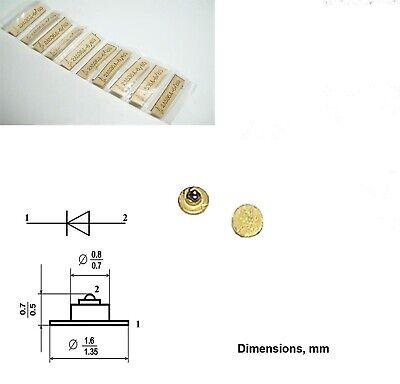 2 Pcs 3a637a Gaas Schottky Varactor Diode 0.16-0.24pf 0.3 - 30ghz Ussr