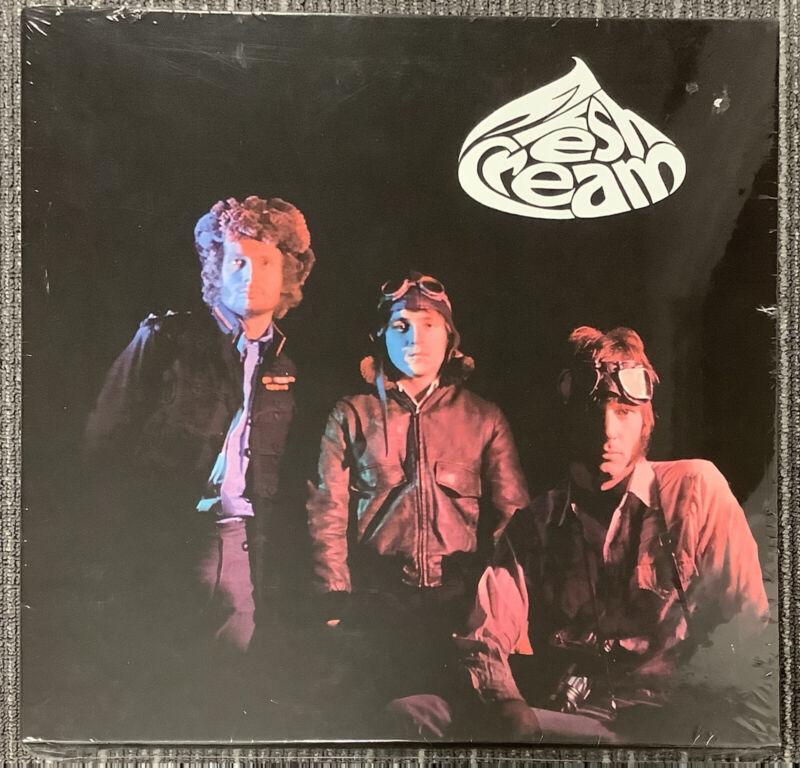 Cream Boxset Fresh Cream Factory Sealed Eric Clapton Ginger Baker Jack Bruce HOF
