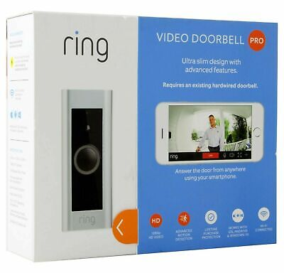 Ring Video Doorbell PRO 1080p Ring Doorbell Pro HD (2-DAY SHIPPING) *BRAND NEW*